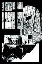 Batman Pencils by Gregg Capullo inks by Curiel by lobocomics