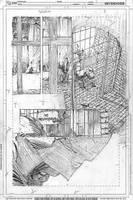 Batman pencils by Gregg Capullo by lobocomics