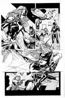 Batwoman By Syaf inks by curiel by lobocomics