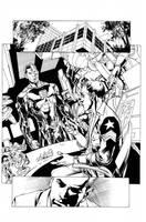 Cyborg by Ivan Reis, inks Ulises Curiel by lobocomics