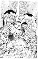 Hulk By Romita Jr inks Curiel by lobocomics