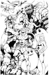 Herculoides By Jose Luis inks Curiel by lobocomics