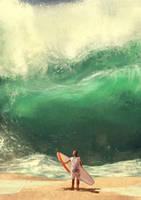 Big wave by VirginiaSoares
