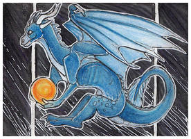ACEO - Time and Space by awaicu