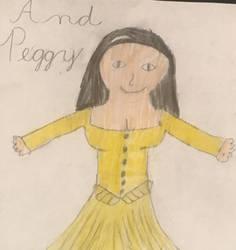 Peggy Schuyler fanart by AromanticHamiltrash
