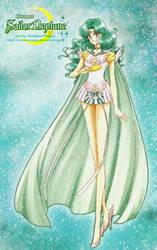 Bishouji Senshi Sailor Moon-Cosmos Sailor Neptune by SlumberPoppy