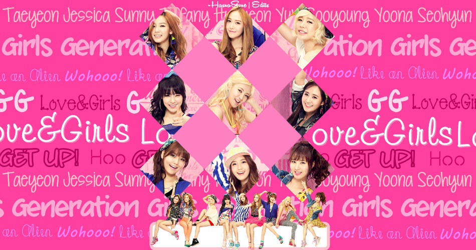 Girls Generation Love And Girls Wallpaper By Hasnasone On Deviantart