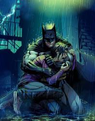 For Tomorrow: Batman by tylercairnsart