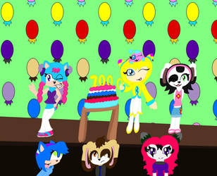 {Contest Entry} 1000 Watchers Celebration Party!!! by Zougethebat