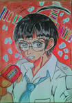 Budi Fighting ( With Glasses and Golden Gloves )  by julikatsubasasta95