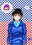 My Genderbend OC (Rei Hanakawa )  by julikatsubasasta95