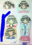 Rena Hanakawa ( Sheet Character )  by julikatsubasasta95
