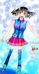 My 1st OC : Rena Hanakawa ( Full Body )  by julikatsubasasta95