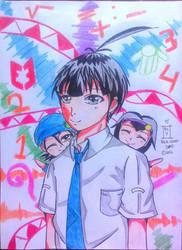 Three of 999 Senior High School part 2  by julikatsubasasta95