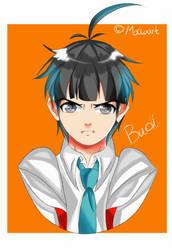 Budi Headshot 3  by julikatsubasasta95