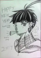 Happy new year 2k17  by julikatsubasasta95