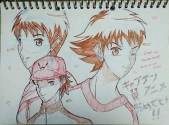 Congratulations for Captain Tsubasa Anime ver  by julikatsubasasta95