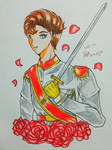 Prince Go with Rose BG  by julikatsubasasta95