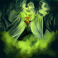 Warlock by kallielef