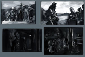 Season 4 Sketches-1 by kallielef