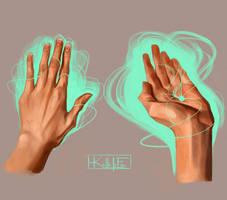 Hand Studies 1 by kallielef