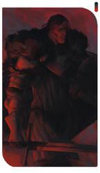 Color Palette Challenge: Sandor Clegane by kallielef