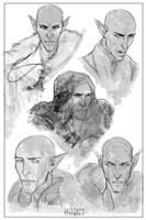 Solas Studies by kallielef