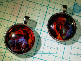 Ink Pendants by moonphases