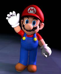 {SFM} Sunshine Mario Test by marioluigibroDX