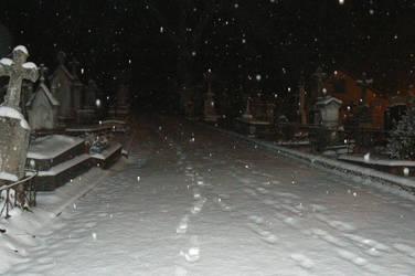 Il neige sur les tombes by unnadeous