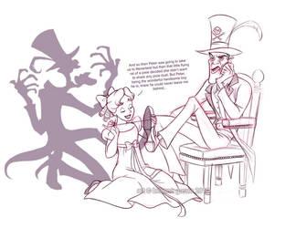 how facilier got his shadow by briannacherrygarcia