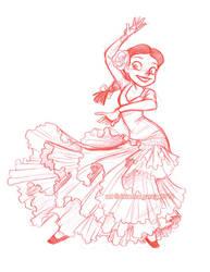 flamenco jessie by briannacherrygarcia