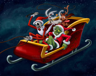 christmas hijackers by briannacherrygarcia