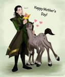 happy mother's day by briannacherrygarcia
