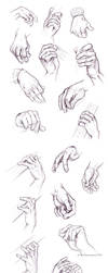 bass hand study by briannacherrygarcia