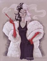 Cruella by briannacherrygarcia