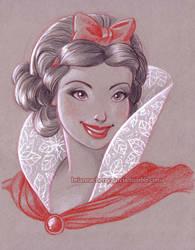 Snow White by briannacherrygarcia