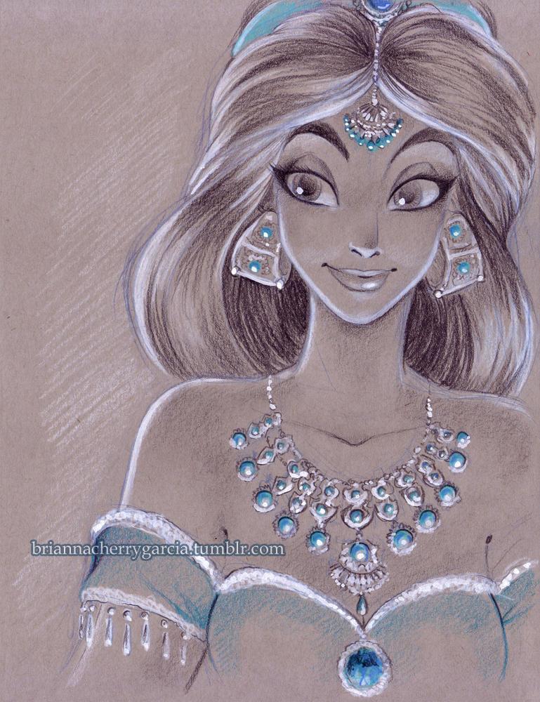 Jasmine by briannacherrygarcia
