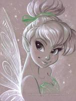 Tinkerbell by briannacherrygarcia