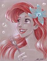 Ariel by briannacherrygarcia