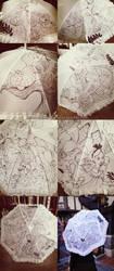 Alice in Wonderland Parasol by briannacherrygarcia