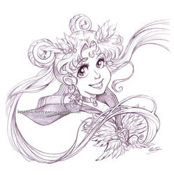 Eternal Sailor Moon by briannacherrygarcia