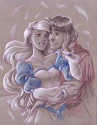 Odette and Derek by briannacherrygarcia
