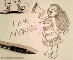 I Am Moana by briannacherrygarcia