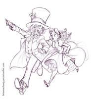 Alice and Reginald by briannacherrygarcia