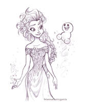 Snowgie by briannacherrygarcia