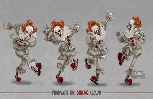 Pennywise the Dancing Asshole by briannacherrygarcia