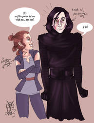 ...Kylo and love... by Ax25