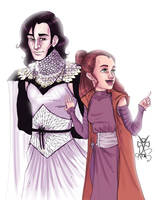 Reylo...Look over there... by Ax25
