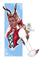 ...Reindeer gal... by Ax25